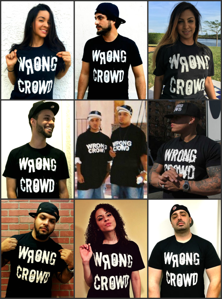 WRONG CROWD TShirts